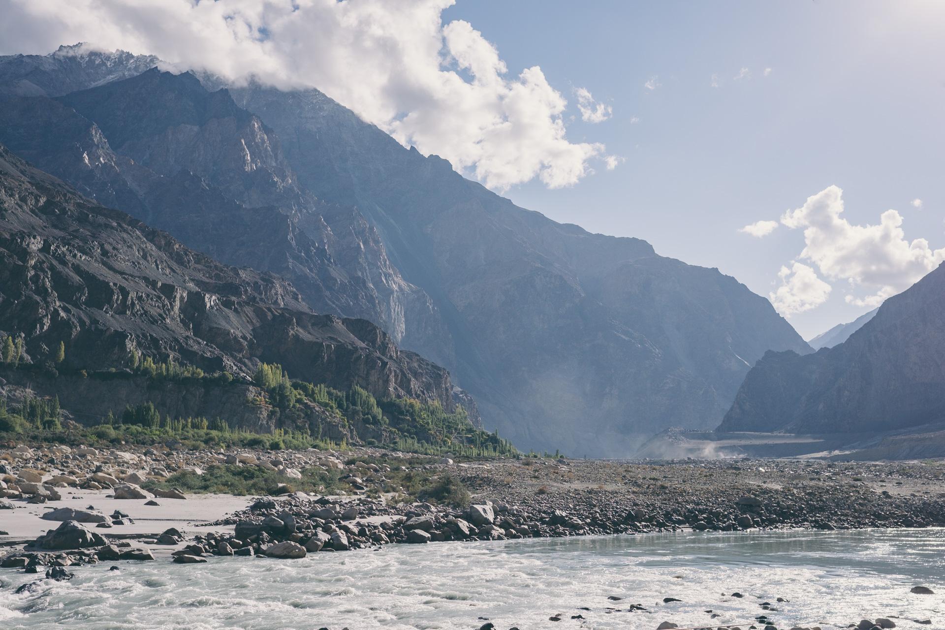 De Shyok vallei